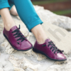 Kép 1/3 - GITA bohemian CIKLÁMEN kézműves bőr cipő