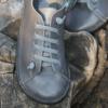 Kép 3/3 - GITA bohemian GLAMSZÜRKE kézműves bőr cipő