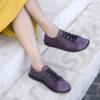 Kép 1/2 - GITA bohemian KÉTSZÍNŰ PADLIZSÁN kézműves bőr cipő