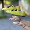 Kép 1/2 - GITA bohemian PISZTÁCIA kézműves bőr cipő