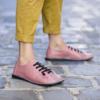 Kép 2/2 - GITA bohemian PÚDER kézműves bőr cipő