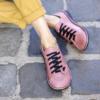 Kép 1/2 - GITA bohemian PÚDER kézműves bőr cipő