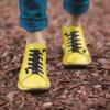 Kép 3/3 - GITA boots SÁRGA kézműves bőr cipő