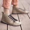 Kép 3/3 - GITA boots HOMOK kézműves bőr cipő