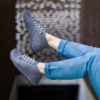 Kép 2/2 - GITA boots ANTRACIT kézműves bőr cipő