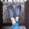Kép 1/2 - GITA boots ANTRACIT kézműves bőr cipő