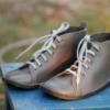 Kép 2/3 - GITA boots GLAMSZÜRKE kézműves bőr cipő