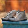 Kép 1/3 - GITA boots GLAMSZÜRKE kézműves bőr cipő