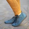 Kép 2/2 - GITA boots PETROL KÉK kézműves bőr cipő