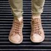 Kép 2/2 - GITA boots DIÓ kézműves bőr cipő