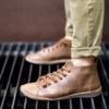 Kép 1/2 - GITA boots DIÓ kézműves bőr cipő