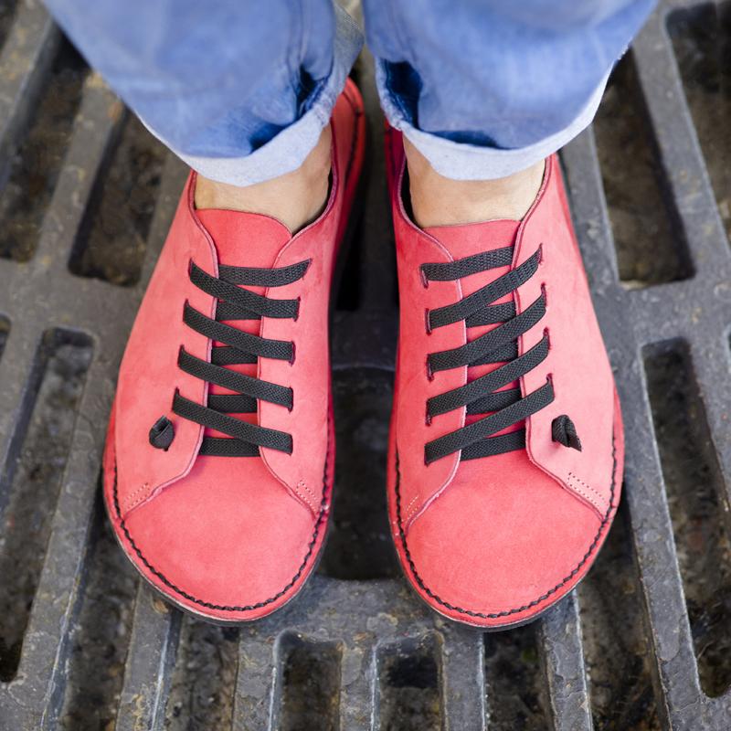 GITA bohemian EPERPIROS kézműves bőr cipő
