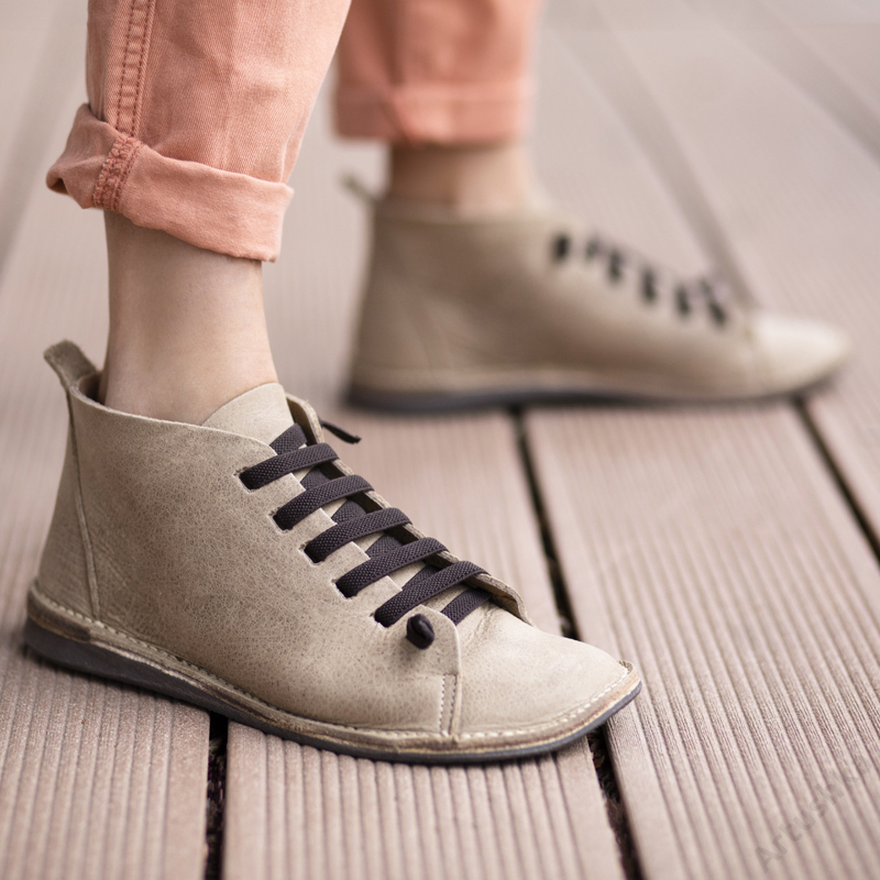 GITA boots HOMOK kézműves bőr cipő