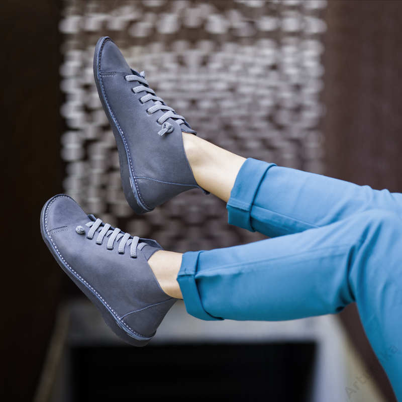 GITA boots ANTRACIT kézműves bőr cipő