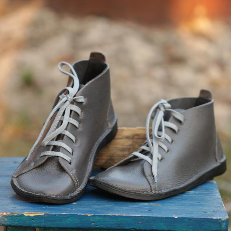 GITA boots GLAMSZÜRKE kézműves bőr cipő